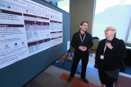 Alexander and Dr. Nancy Kent. MFM UBC