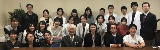 Professor Saito meeting image